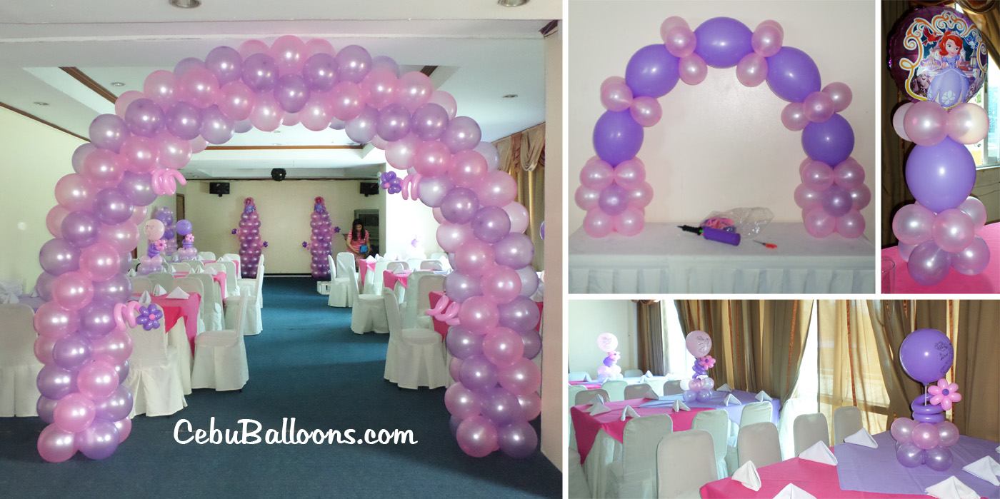 metro park hotel | cebu balloons and party supplies