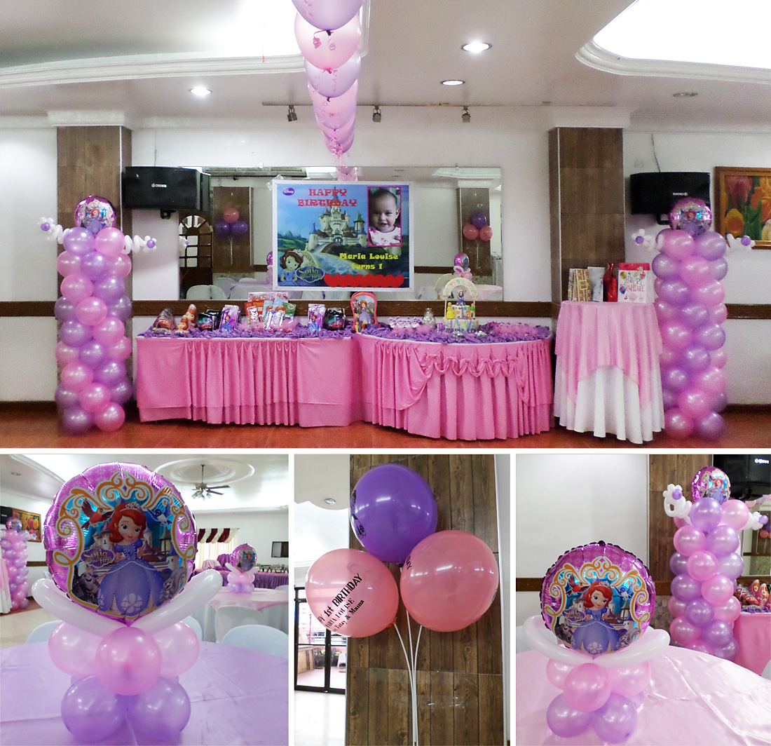 Sofia the First | Cebu Balloons and Party Supplies