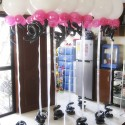 Walkway Balloons for Monster High Theme
