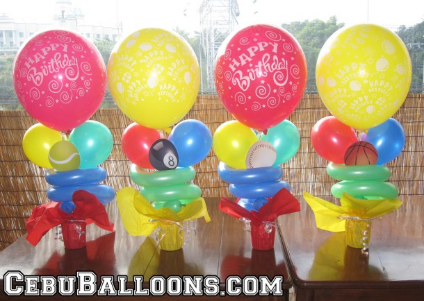 Centerpieces with Balls Printout