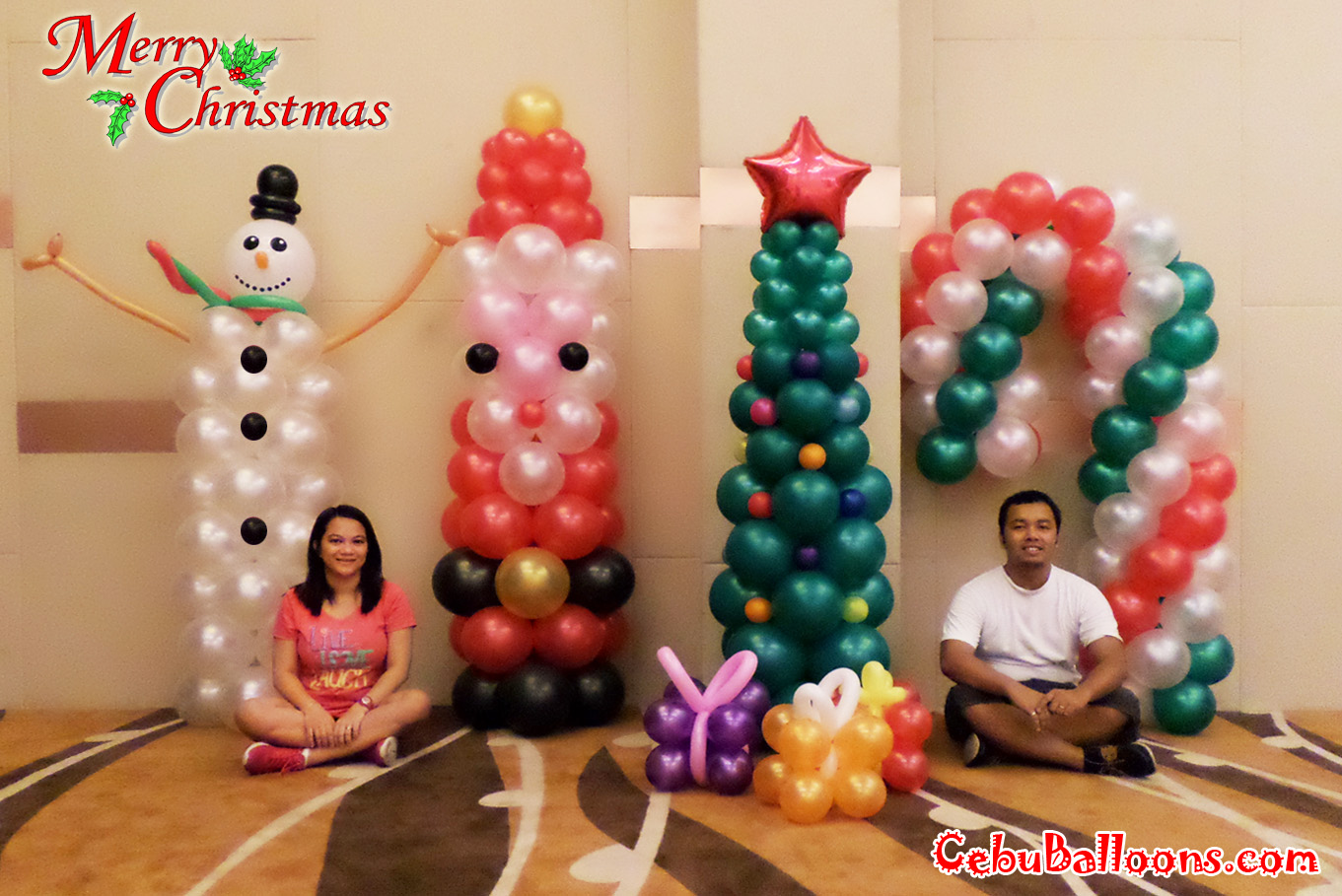 Christmas cebu balloons and party supplies