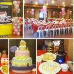 Balloon Decor and Dessert Buffet for Christening (Venice Loise) at AA's Guadalupe