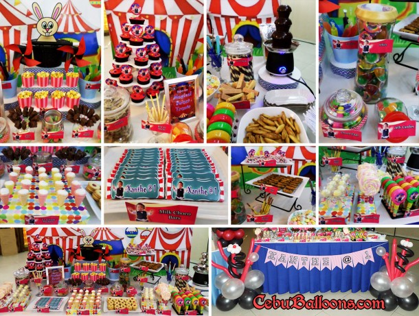 Contents of Magician Theme Dessert & Sweets Buffet