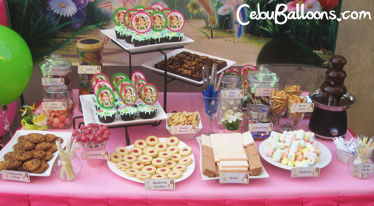 dessert candy buffet cebu balloons and party supplies. Black Bedroom Furniture Sets. Home Design Ideas