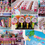 Details of Candyland Theme Sweets Buffet at Sacred Heart Center