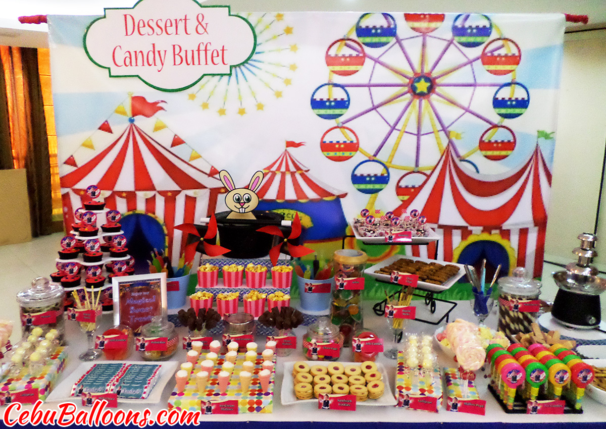 Dessert Buffet (Decors, Cake, Pastries & Candies) | Cebu ...
