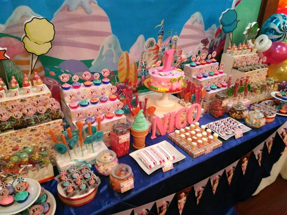 Phenomenal Nicos Candyland Dessert Buffet Cebu Balloons And Party Interior Design Ideas Clesiryabchikinfo