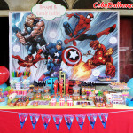 Sweets Buffet Package A - Spiderman Theme