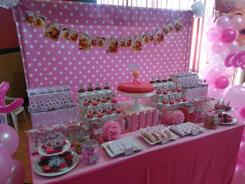 sweets buffet for a christening at hannah s place cebu balloons