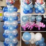 Disney Frozen Balloon Setup for pick-up