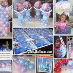 Disney Frozen Party Package and Balloon Decoration at Dona Jacinta Village