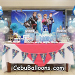 Disney Frozen-theme Dessert Buffet Package for Ava's 2nd Birthday at Antonio's Place