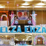 Elsa & Anna (Disney Frozen) Theme Balloon Setup at City Suites Ramos