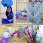 Frozen Balloons & Party Package for a Korean Girl at Lady Jean