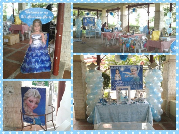 Frozen (Elsa) Theme Decoration at Monteverde