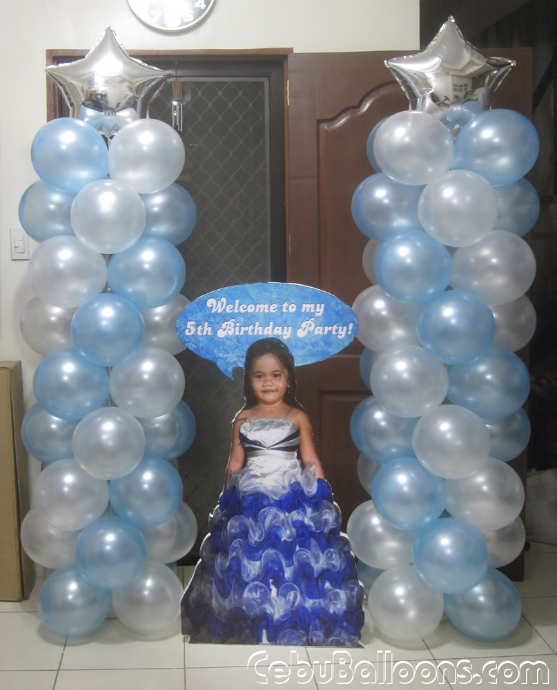 Frozen Balloon Decoration