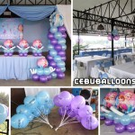 Frozen Theme Balloon Decoration Package at Orosia Food Park