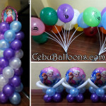 Frozen-theme Balloon Decoration Package at STAC, Lapulapu City