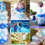 Frozen-theme Balloon Decors at Costabella Tropical Resort