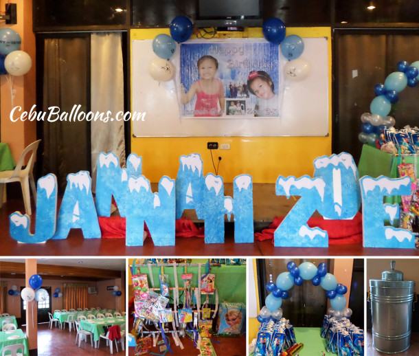 3d letter standees cebu balloons and party supplies