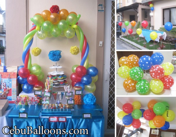 Lego Theme Balloon Decoration