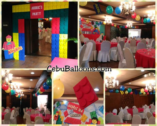 Legoland Theme Styrocrafts and Balloons at Casino Espanol