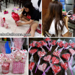 Preparation of items for Valentines 2015