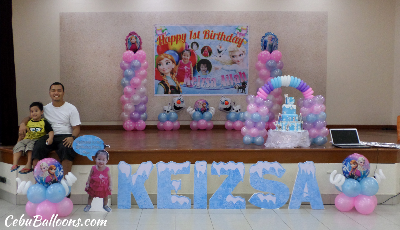 Frozen disney cebu balloons and party supplies for 3d decoration for birthday