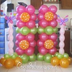 Butterfly & Flower Balloon Decoration