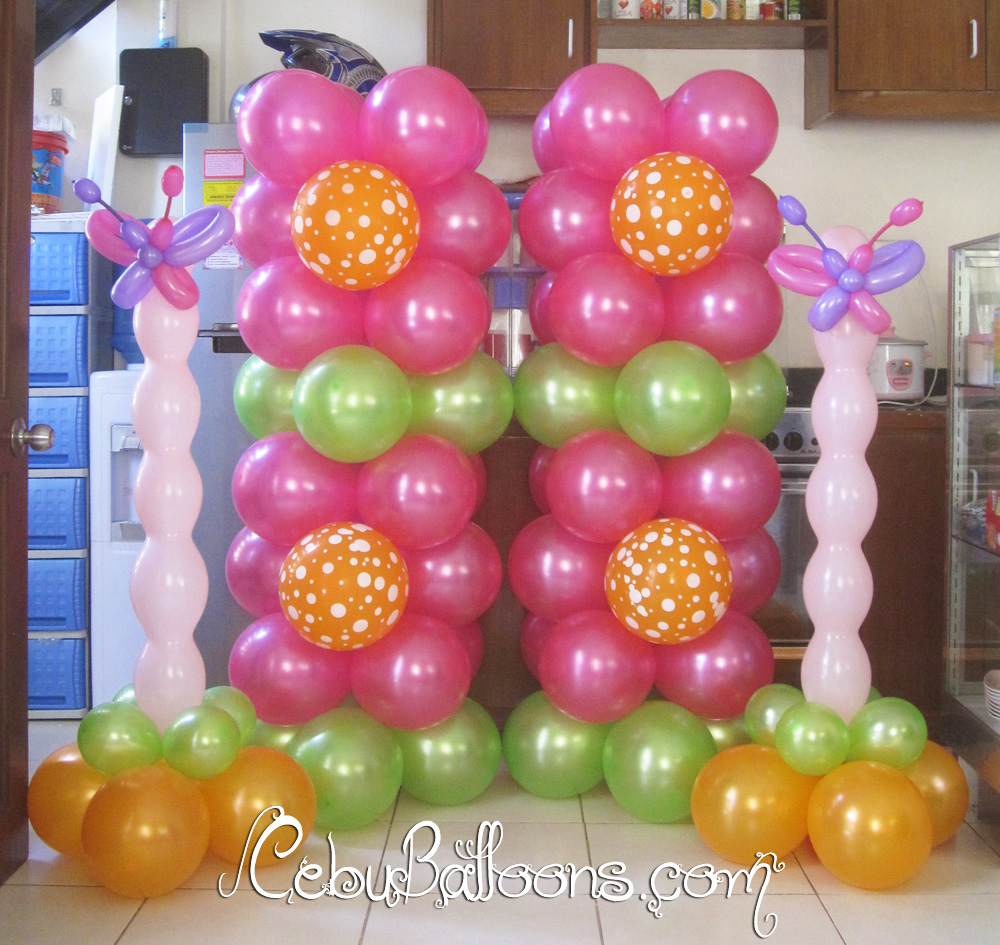 balloon decoration with butterfly home decorating excellence. Black Bedroom Furniture Sets. Home Design Ideas