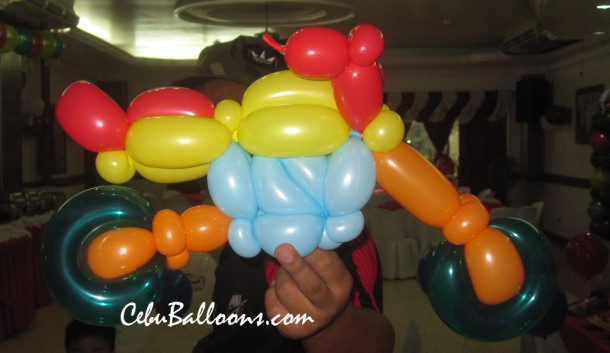 Harley Davidson Twisted Balloon