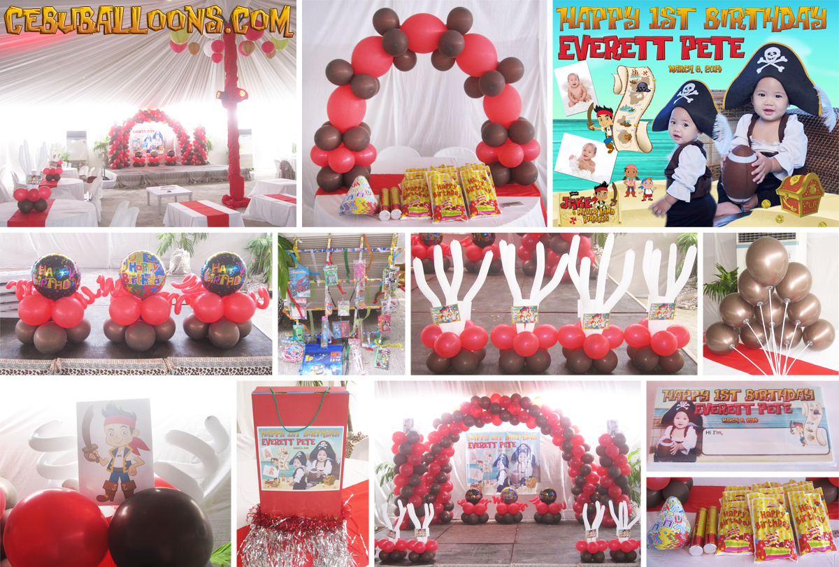 Jake And The Neverland Pirates Cebu Balloons And Party Supplies