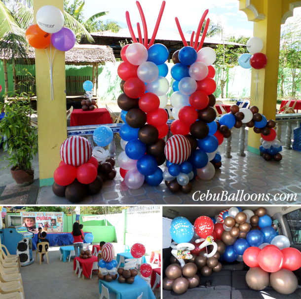 Jake & the Pirates Theme Balloon Decors and Party Supplies at Catarman Liloan