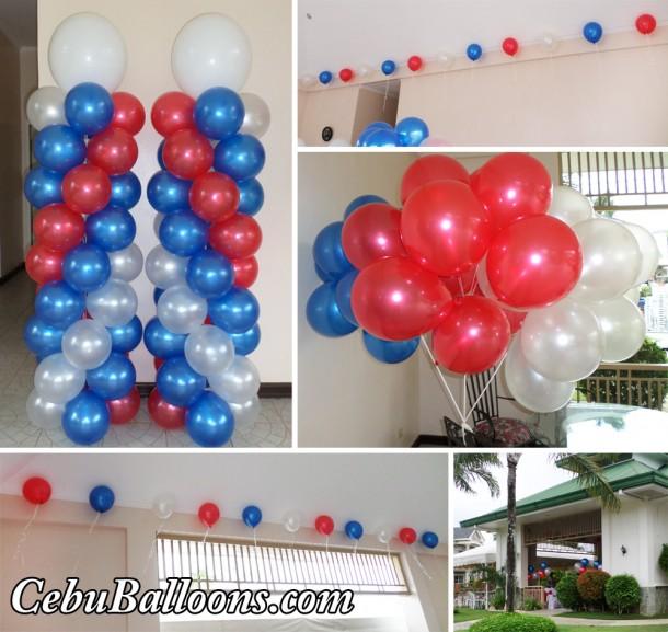 Nautical Colored Balloons at Garden Ridge Clubhouse