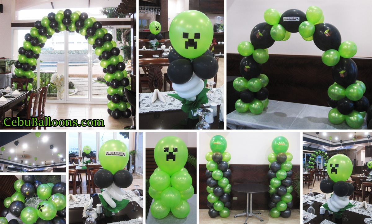 Minecraft party decoration ideas elitflat