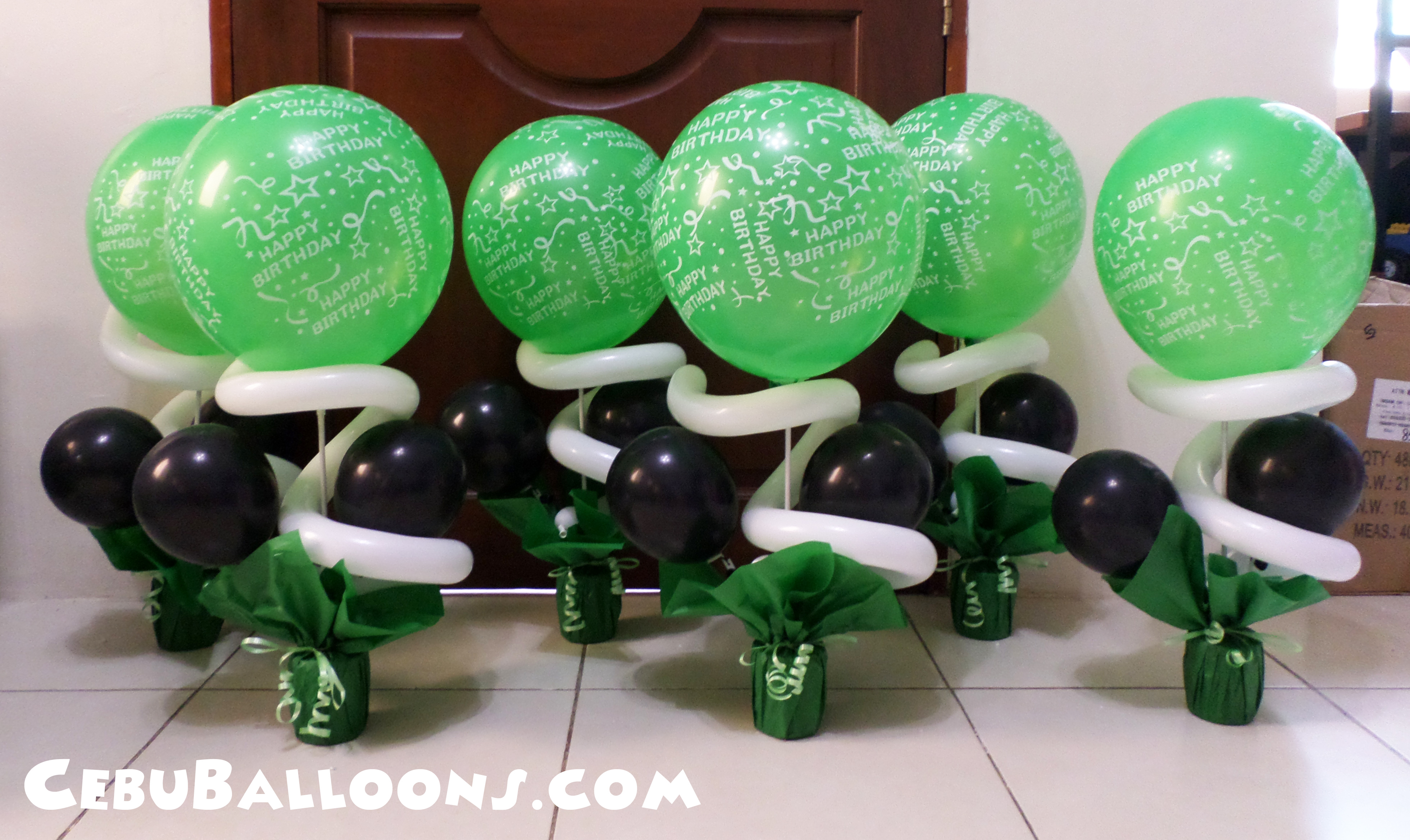 Black And Green Party Supplies 56