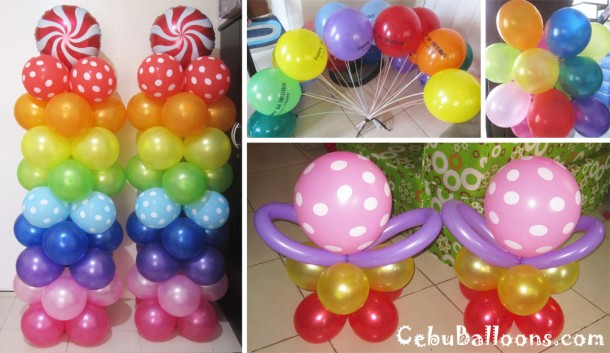 Colorful Lalaloopsy Balloon Decoration at Premiere Citi Suites