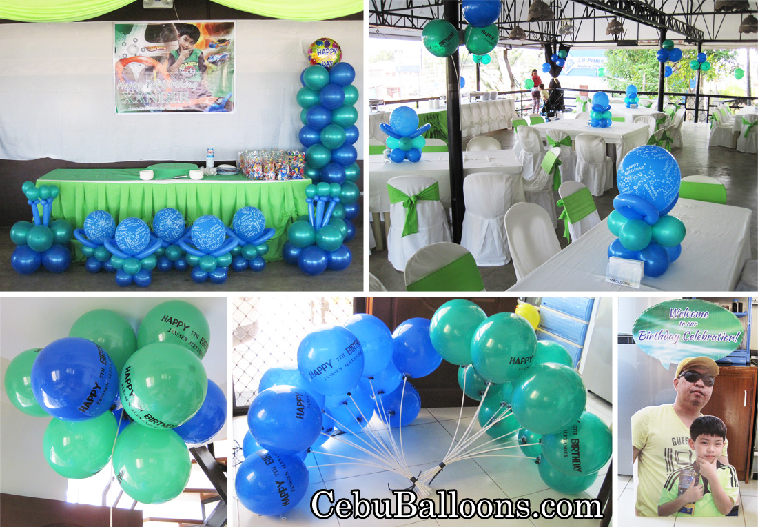 under the sea cebu balloons and party supplies. Black Bedroom Furniture Sets. Home Design Ideas