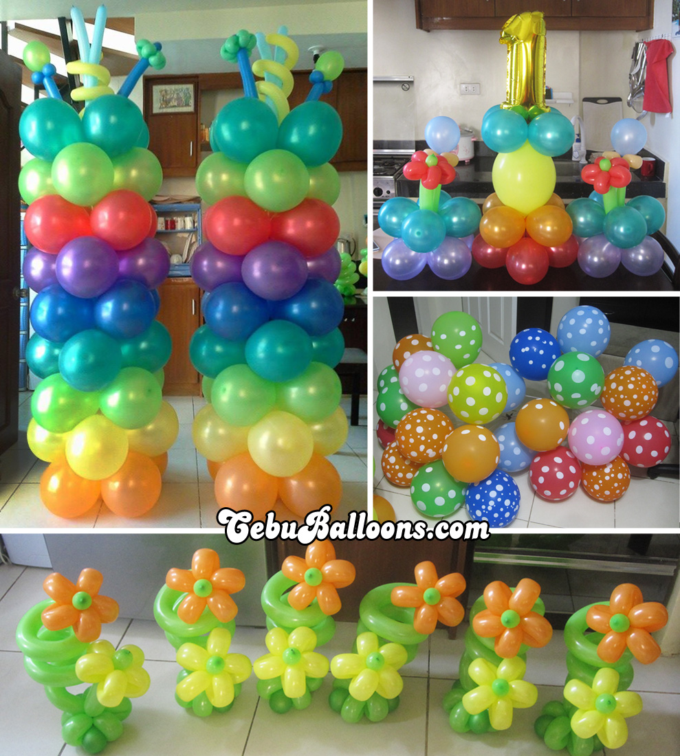 Lalaloopsy cebu balloons and party supplies for Balloon decoration kits