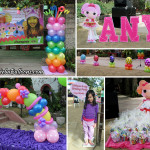 Lalaloopsy Balloons & Styro Decoration at Fort San Pedro