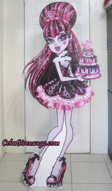 Life-size Draculaura Styro Standee
