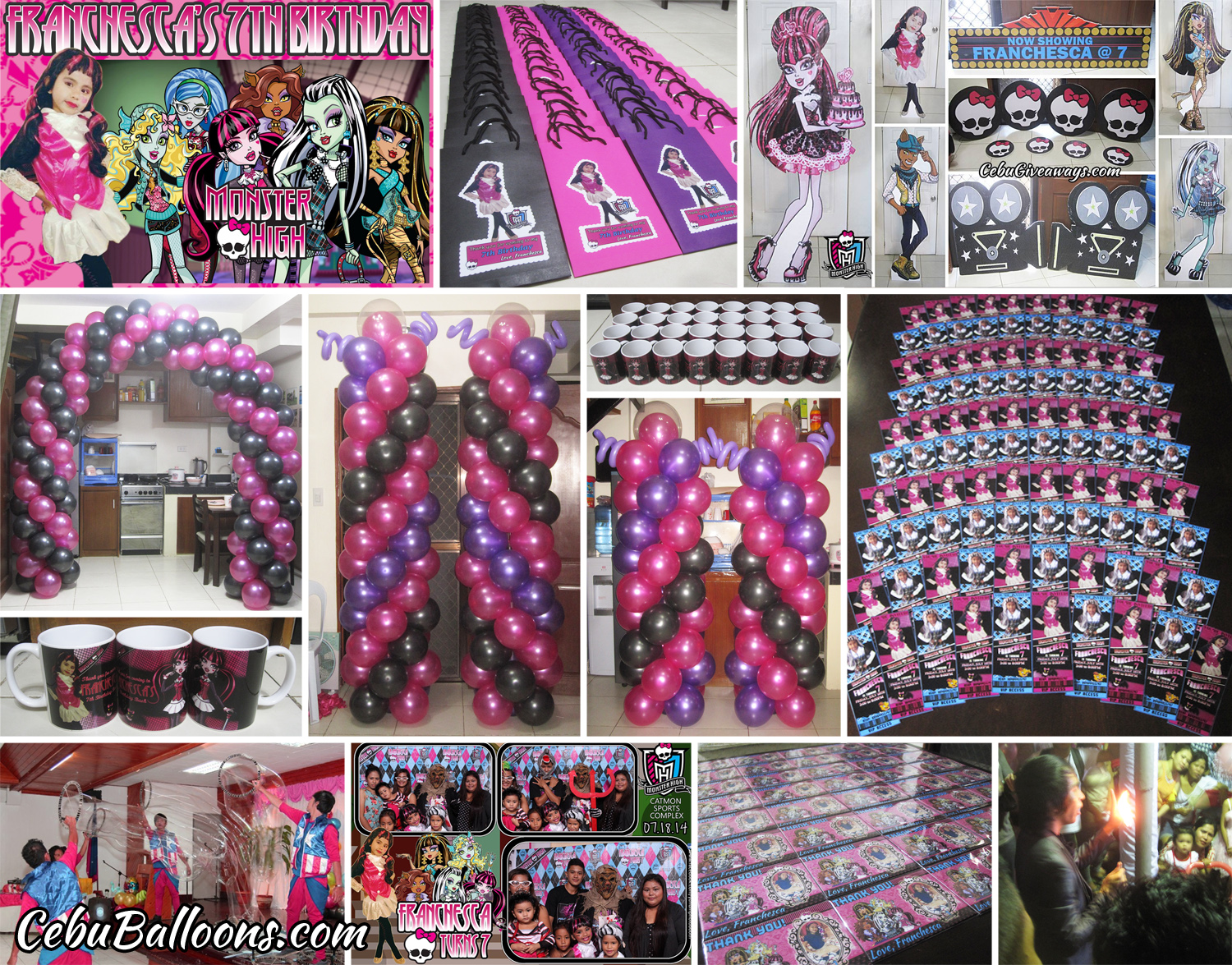 monster high | cebu balloons and party supplies