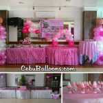 Abighail's Christening Party Decors with Giveaways at Maria Lina Building