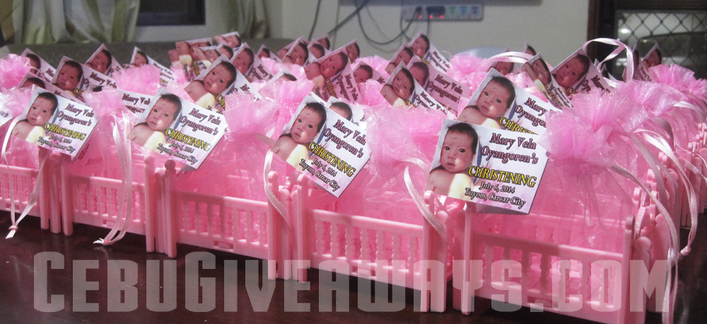 Party favors for birthday christening wedding cebu balloons and party supplies - Giveaways baptism ...