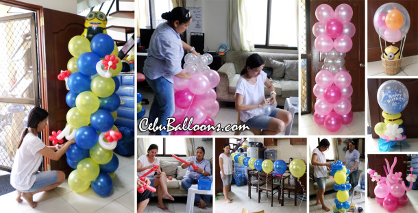 Balloon business start up package with training workshop for Balloon decoration courses