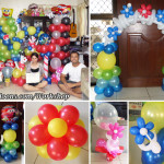 Balloon Decor Workshop with Trainees from Cebu City