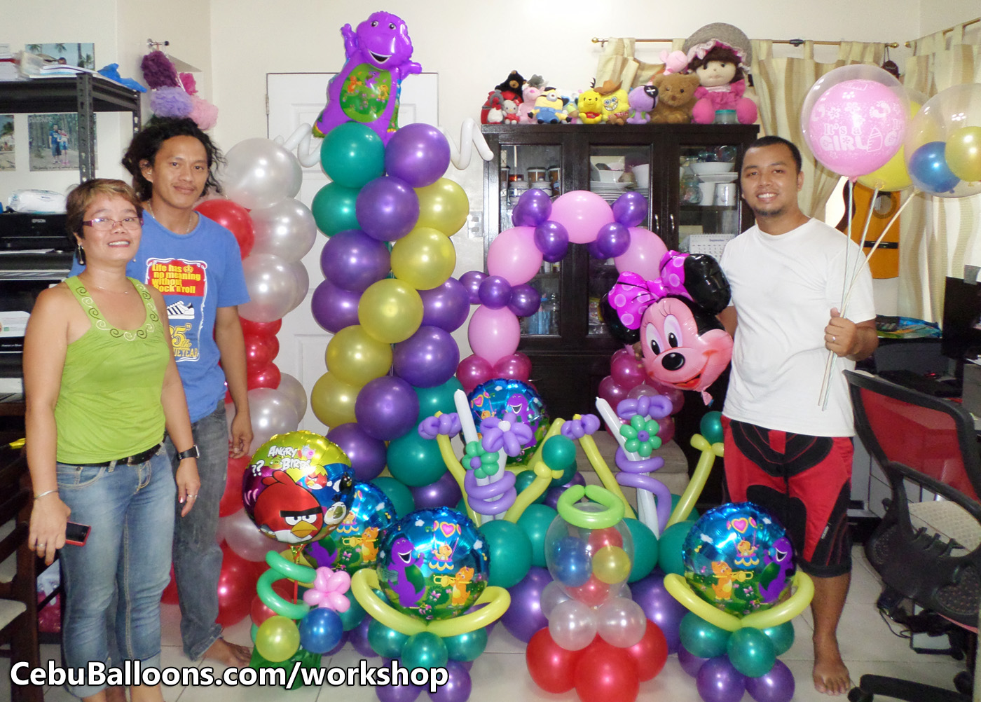 Balloon business start up package with training workshop for Balloon decoration business
