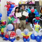 Balloon Decoration Training for Siblings from Siquijor