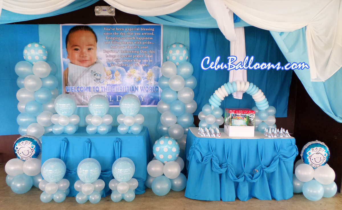 Christening Package C With Cake At Orosia Food Park
