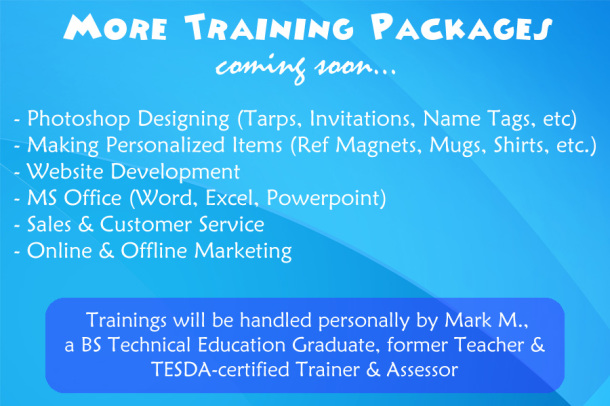 More Training Packages